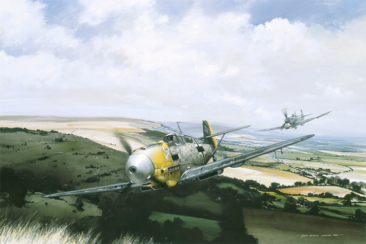 the chase - scenes of the battle of britain