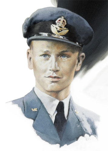 Wing Commander Tom Neil - Individuals print