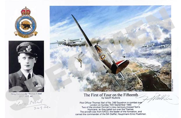 Wing Commander Thomas F. Neil : The First of Four on the Fifteenth