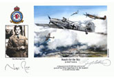 Pilot Officer Nigel Rose - Reach for the Sky - Pilot Portrait print