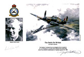 Sergeant Mike Croskell - The Battle for Britain - Pilot Portrait print