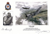 Pilot Officer Tom Sherrington - Fallen Eagle - Pilot Portrait print
