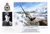 Wing Commander Thomas F. Neil - The First of Four on the Fifteenth - Pilot Portrait print