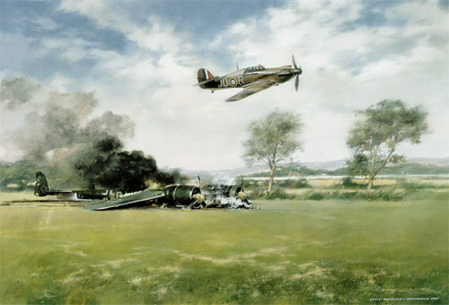 Eagle Day - Scenes of the Battle of Britain print