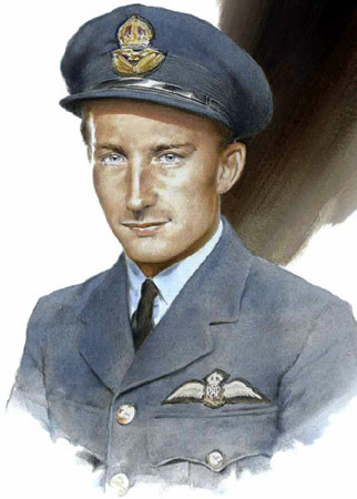 Squadron Leader Peter Brown - Individuals print
