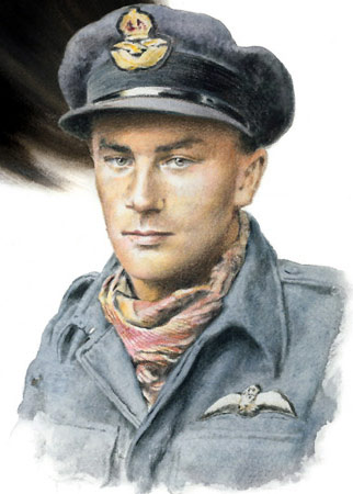 Flight Lieutenant Jack Stafford - Individuals print