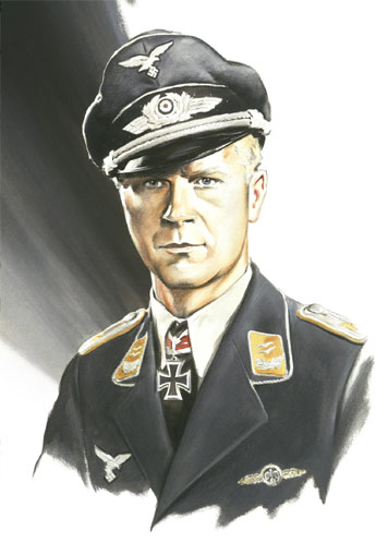 Major Hans-Ekkehard Bob - Individuals print