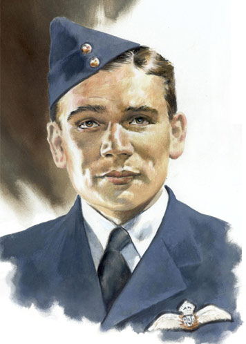 Flight Lieutenant Reginald Frank Rimmer - Individuals print