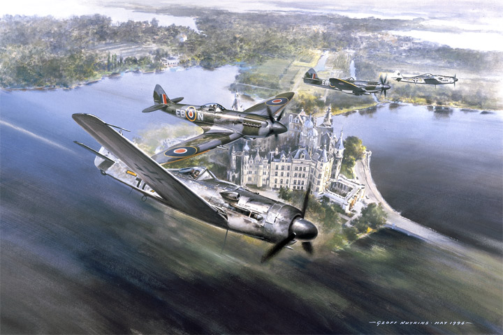Combat over Lake Schwerin - get it for free!