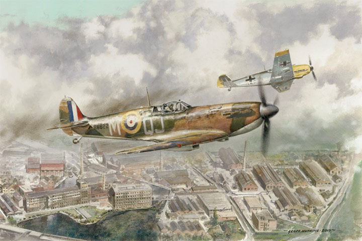 Local Hero Limited Editions Aviation Art By Geoff Nutkins