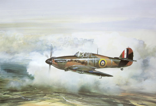 Hurricane - Limited Edition print