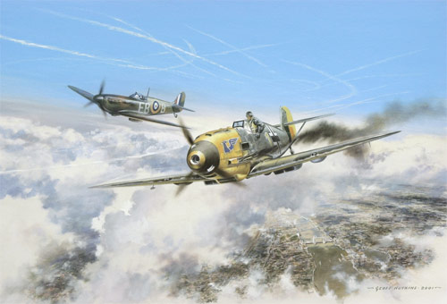 Battle above the Clouds - Open Edition print