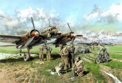 'Totenkopf' Schnellbombers - Open Edition print