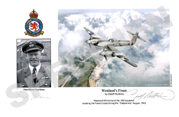 Pilot Officer Fred Green : Westland's Finest