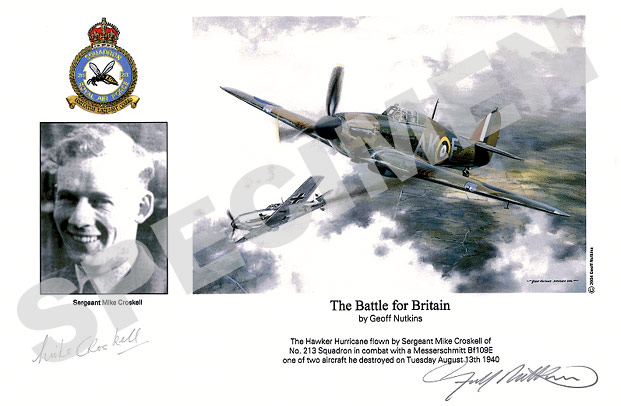 Sergeant Mike Croskell : The Battle for Britain