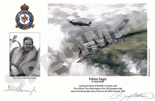 Pilot Officer Tom Sherrington : Fallen Eagle