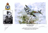 Flight Lieutenant Colin Perkins - Safe Return Home - Pilot Portrait print
