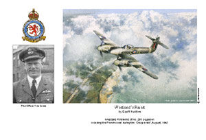 Pilot Officer Fred Green - Westland's Finest - Pilot Portrait print