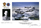 Captain Charles E. Barrier - Remember Me? - Pilot Portrait print