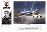 Wing Commander A.D.McN.Boyd - Night Reaper - Pilot Portrait print