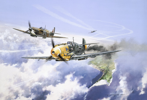 Battle above the Clouds - Collector's Edition print