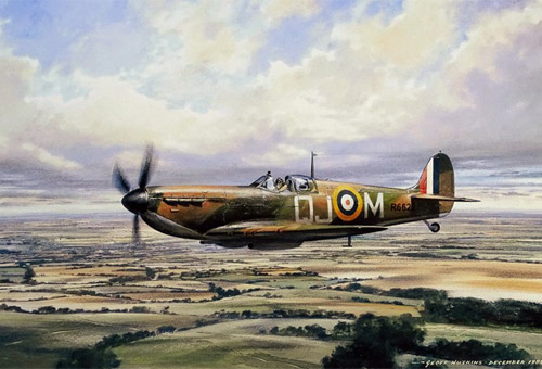 Spitfire on Patrol - Collector's Edition print